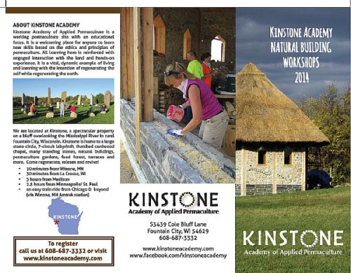 Kinstone workshops brochure 1